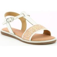 Chaussures Fille Sandales et Nu-pieds Mod'8 Pailletta BLANC