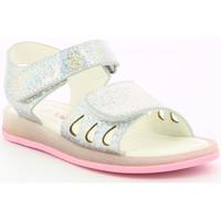 Chaussures Fille Sandales et Nu-pieds Mod'8 Liboo ARGENT