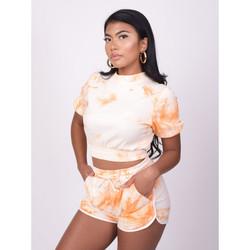 Vêtements Femme T-shirts & Polos Project X Paris Short Orange