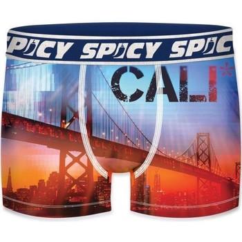 Sous-vêtements Homme Boxers Spicy Underwear ASS1 bleu