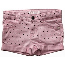 Vêtements Fille Shorts / Bermudas Guess Short fille à pois ROSE Rose