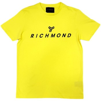 Vêtements Homme T-shirts manches courtes John Richmond - T-shirt giallo UMP21004TS GIALLO