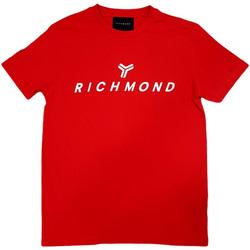 Vêtements Homme T-shirts manches courtes John Richmond - T-shirt rosso UMP21004TS ROSSO