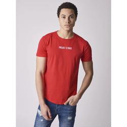 Vêtements Homme Veuillez choisir un pays à partir de la liste déroulante Project X Paris Tee Shirt Rouge