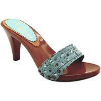 Chaussures Femme Mules Kiara Shoes K6701 Turquoise