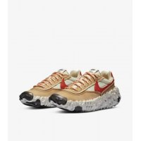 Chaussures Baskets basses Nike Overbreak SP Fossil Mars Yard White/Brown/Red