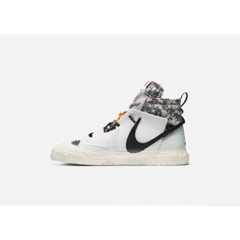 Chaussures Baskets montantes Nike Blazer Mid x Readymade White White/Vast Grey-Volt-Total Orange