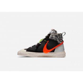 Chaussures Baskets montantes Nike Blazer Mid x Readymade Black Black/Vast Grey/Volt/Total Orange