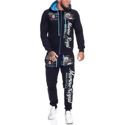 Vêtements Homme Ensembles de survêtement Violento Survêtement fashion homme Survêt 512 bleu marine Bleu