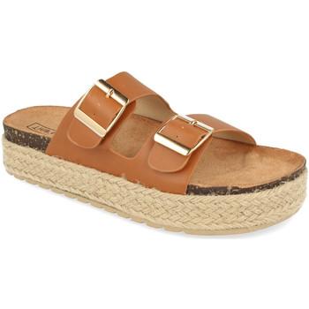 Chaussures Femme Mules Benini 21301 Camel
