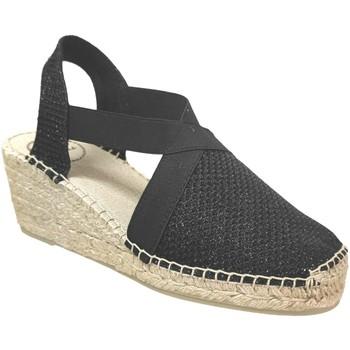 Chaussures Femme Espadrilles Toni Pons Triton Noir brillant
