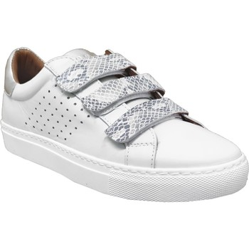 Chaussures Femme Baskets basses K.mary Claros Blanc/Argent