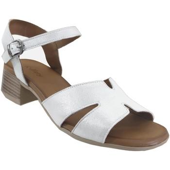 Chaussures Femme Sandales et Nu-pieds K.mary Jade Gris metal cuir