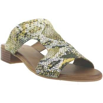Chaussures Femme Mules K.mary Kir Jaune cuir