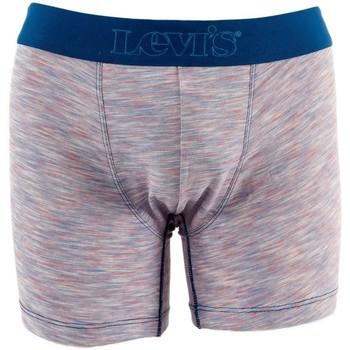 Sous-vêtements Caleçons Levi's micro stripe boxer brief 002 blue combo bleu