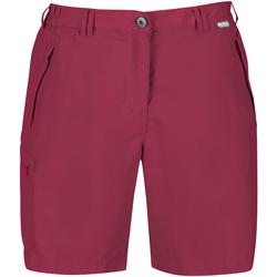Vêtements Femme Shorts / Bermudas Regatta  Rouge foncé