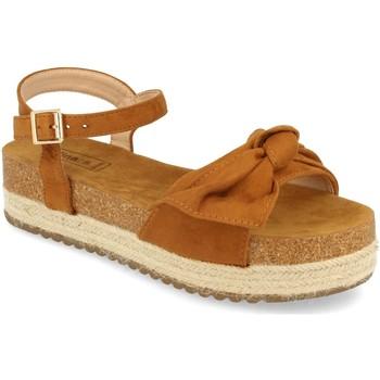 Chaussures Femme Sandales et Nu-pieds Benini 20336 Camel