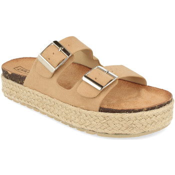 Chaussures Femme Mules Benini 21302 Beige