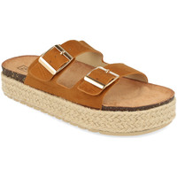 Chaussures Femme Mules Benini 21302 Camel