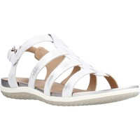 Chaussures Femme Sandales et Nu-pieds Geox D SANDAL VEGA A Argent