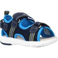 Chaussures Garçon Sandales et Nu-pieds Geox B SANDAL MULTY BOY A Bleu
