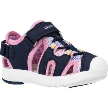 Chaussures Fille Sandales et Nu-pieds Geox B SANDAL MULTY GIRL Bleu