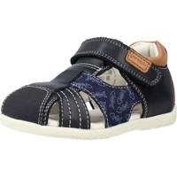 Chaussures Garçon Sandales et Nu-pieds Garvalin 212602 Bleu