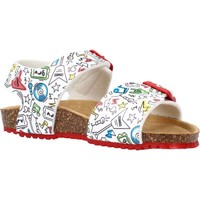 Chaussures Garçon Sandales et Nu-pieds Garvalin 212661 Blanc