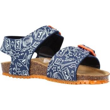 Chaussures Garçon Sandales et Nu-pieds Garvalin 212661 Bleu
