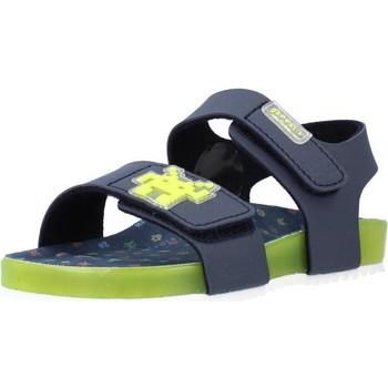 Chaussures Garçon Sandales et Nu-pieds Garvalin 212665 Bleu