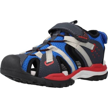 Chaussures Garçon Sandales sport Geox J BOREALIS BOY B Bleu
