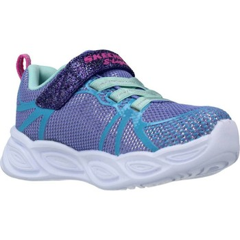Chaussures Fille Baskets basses Skechers SHIMMER BEAMS SPORTY GLOW Violet