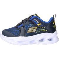 Chaussures Garçon Baskets basses Skechers - Vortex blu 400031N NVYL BLU