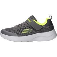 Chaussures Garçon Running / trail Skechers - Dynamight grigio 97786L CCLM GRIGIO