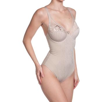 Sous-vêtements Femme Bodys Selene Body à bretelles avec armatures Bdmaril Marron