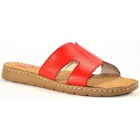 Chaussures Femme Mules Jana 8-27115-26566 ROUGE FIRE