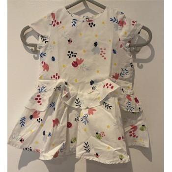 Vêtements Fille Robes courtes Catimini Robe et son bloomer, Catimini, 3 mois Blanc