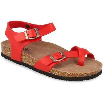 Chaussures Femme Sandales et Nu-pieds Woman Key D18-19 Rojo