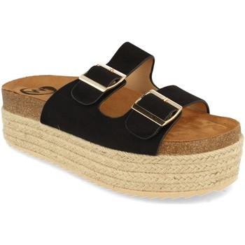 Chaussures Femme Mules Woman Key MT-51 Negro