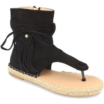 Chaussures Femme Sandales et Nu-pieds Woman Key MT-58 Negro
