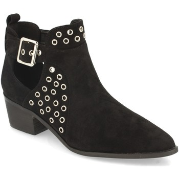 Chaussures Femme Bottines Buonarotti 1A-1033 Negro