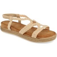 Chaussures Femme Sandales et Nu-pieds Buonarotti 1AF-1207 Beige