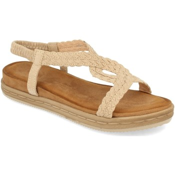 Chaussures Femme Sandales et Nu-pieds Buonarotti 1AF-1208 Beige