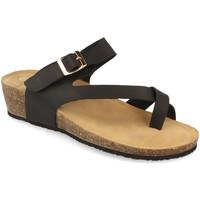 Chaussures Femme Sandales et Nu-pieds Woman Key R9002 Negro