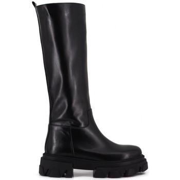 Chaussures Femme Bottes ville Aria Shoes Stivale Nero Noir