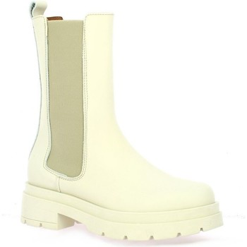 Chaussures Femme Boots Pao Boots cuir Beige