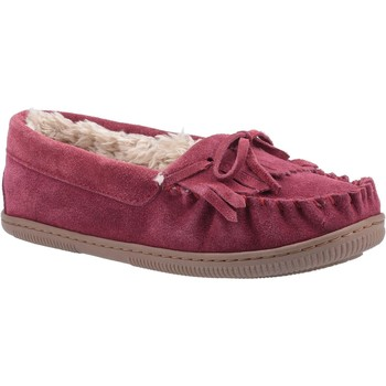 Chaussures Femme Chaussons Hush puppies HPW1000-68-3-3 Addy Bourgogne