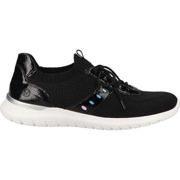 Chaussures Femme Baskets basses Remonte Dorndorf Sneaker Schwarz/Silber