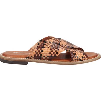 Chaussures Femme Sabots Fred de la Bretoniere Mules Braun