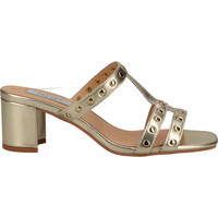 Chaussures Femme Sabots Steven New York Mules Gold